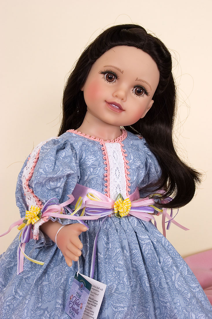 Violet Travilla Doll Vinyl Open Edition Play Doll By