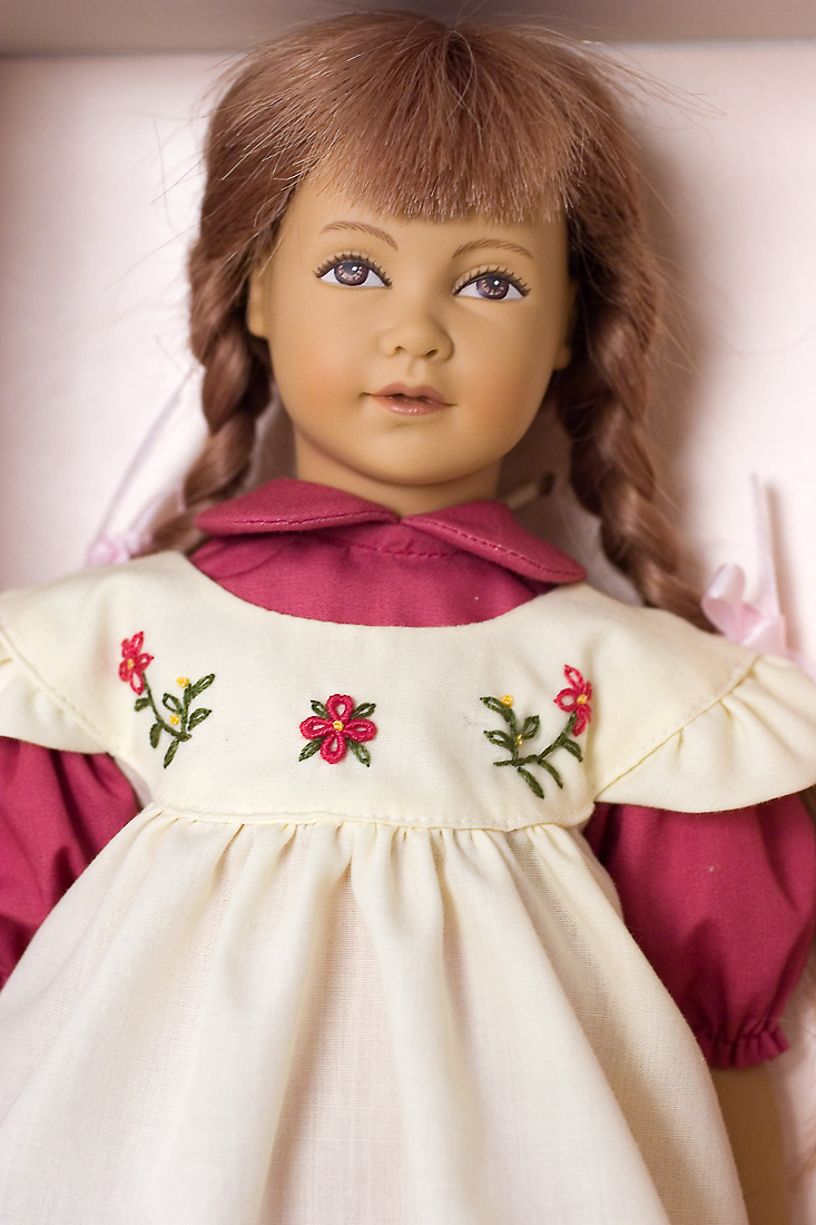 Heidi Vinyl Soft Body Open Edition Collectible Doll By