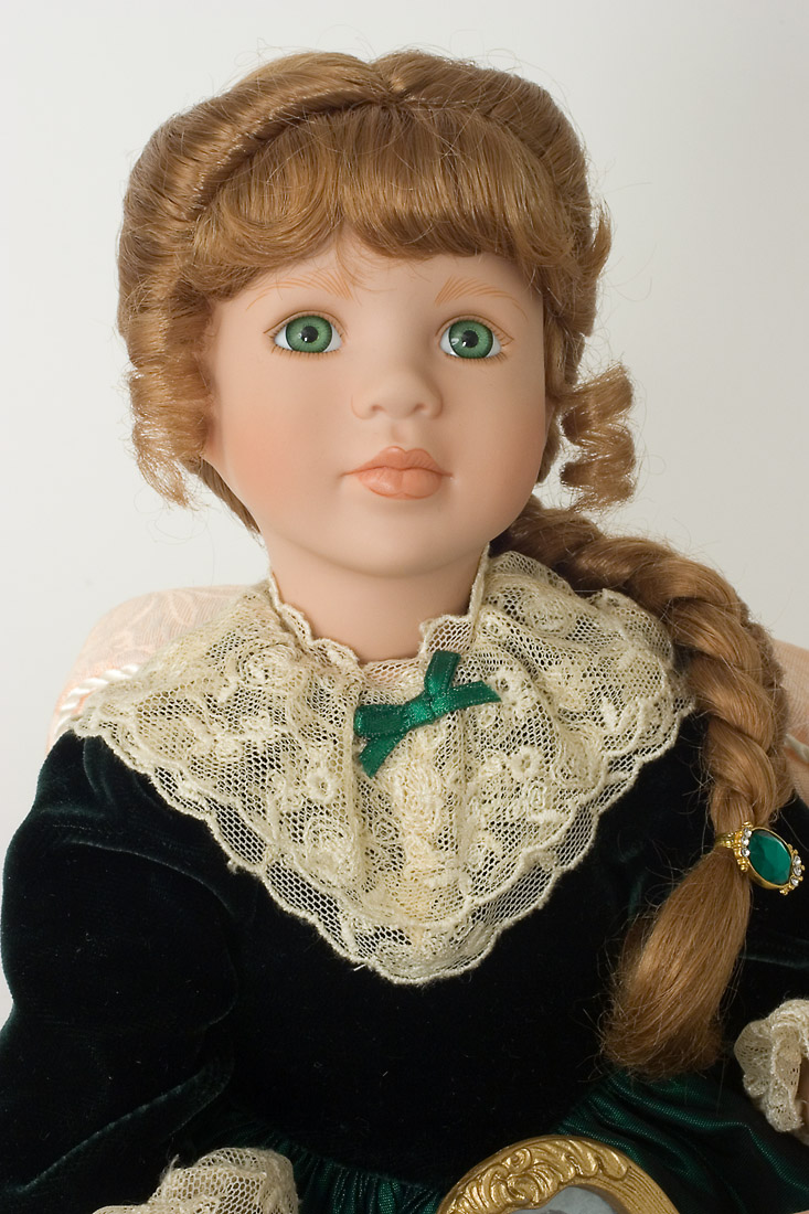Emerald Memories Porcelain Soft Body Collectible Doll