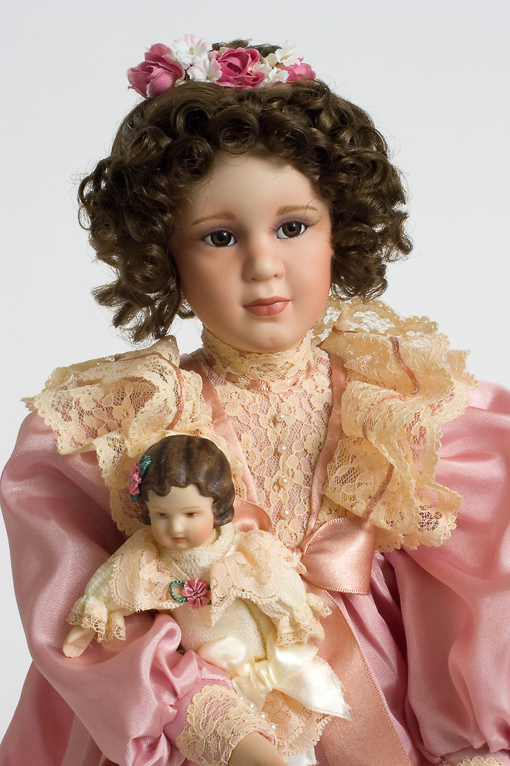 Mary Elizabeth - Porcelain soft body Collectible Doll