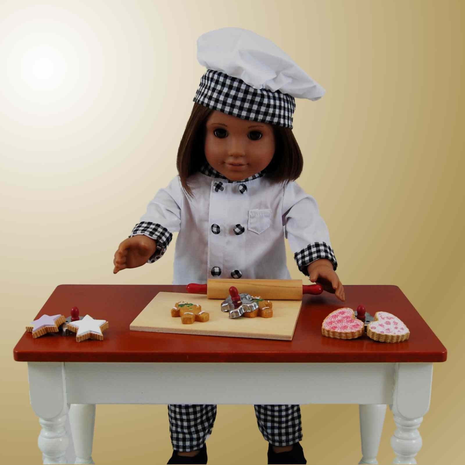 6 Piece Cookie Set For 18 Quot American Girl 168 Doll Kitchen