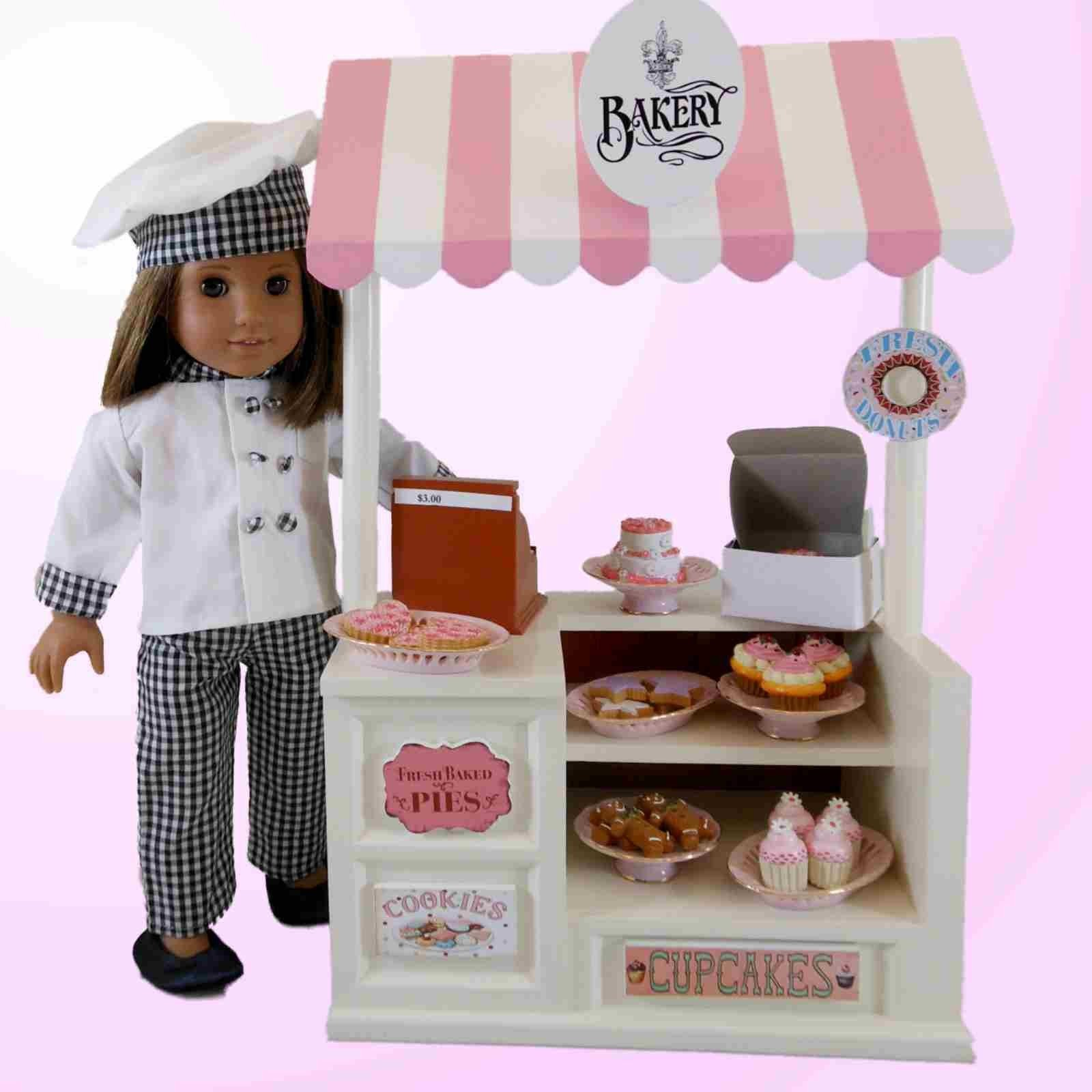 3 Cupcakes Set For 18 Quot American Girl 168 Doll