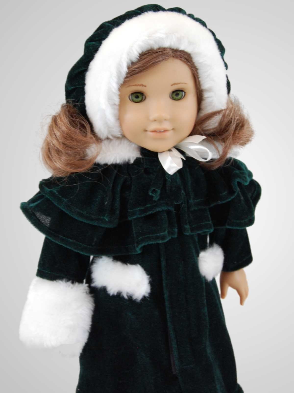 Velvet Coat Doll Clothes Outfit For 18 Quot American Girl 168 Doll