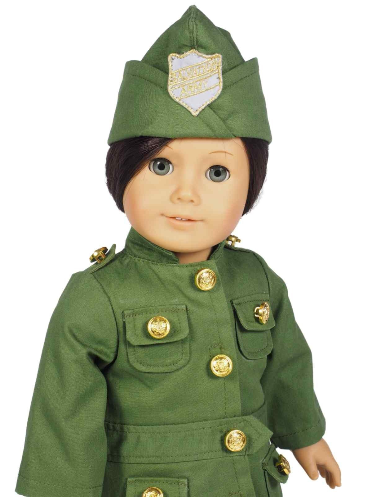 Salvation Army Uniform Doll Clothes For 18 Dolls