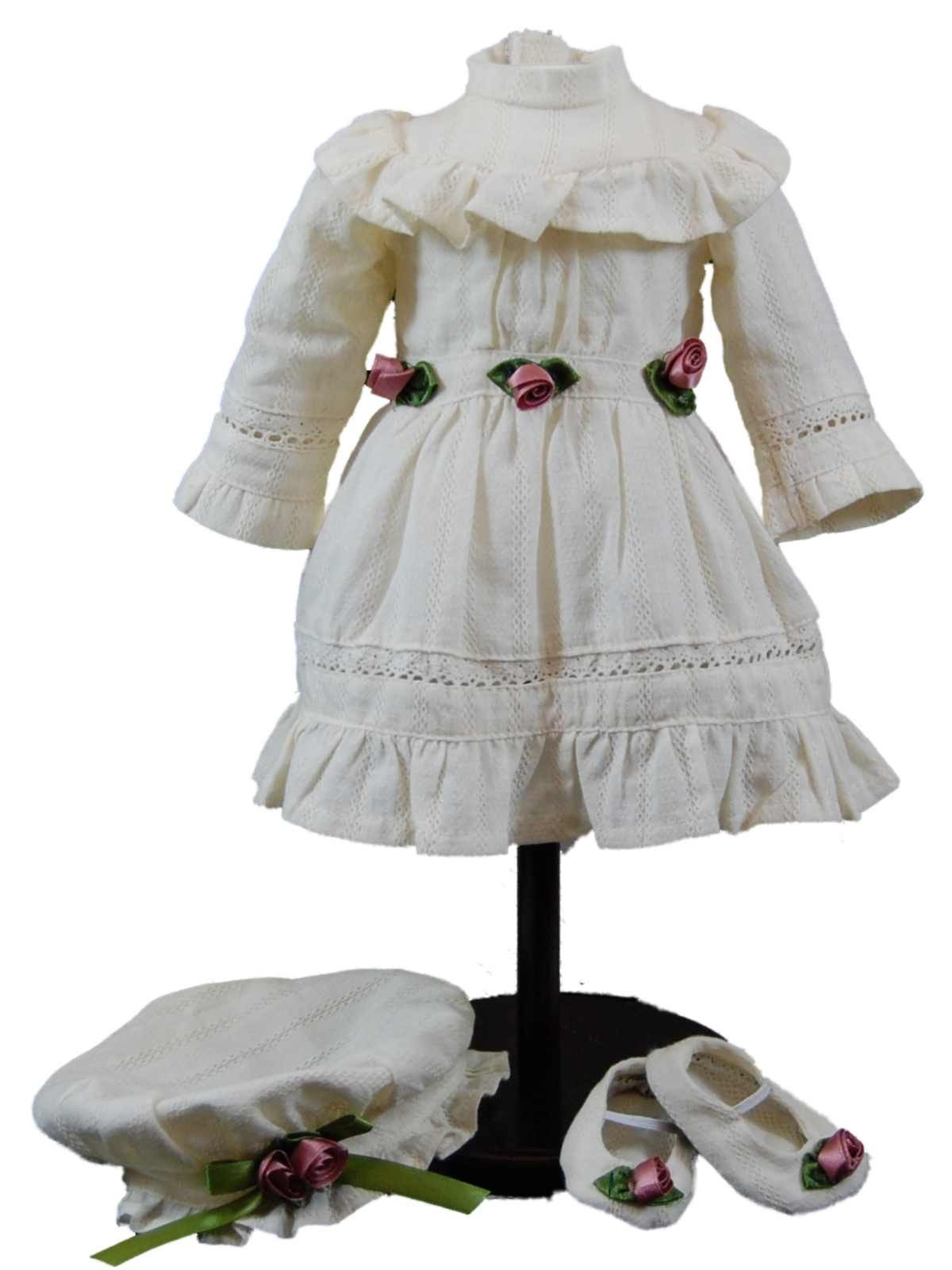1930 S Part Dress And Accessories Doll Clothes For 18