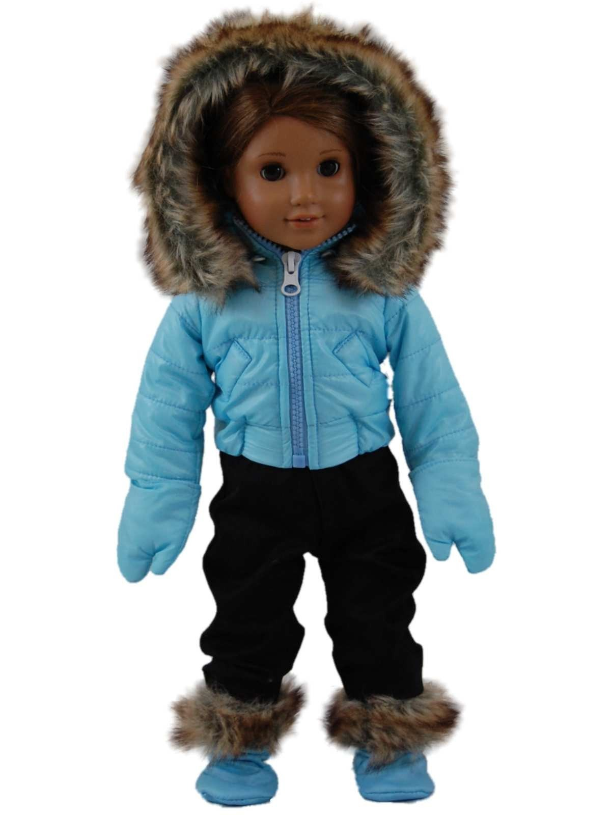 Winter Ski Time Outfit Doll Clothes For 18 Quot Dolls