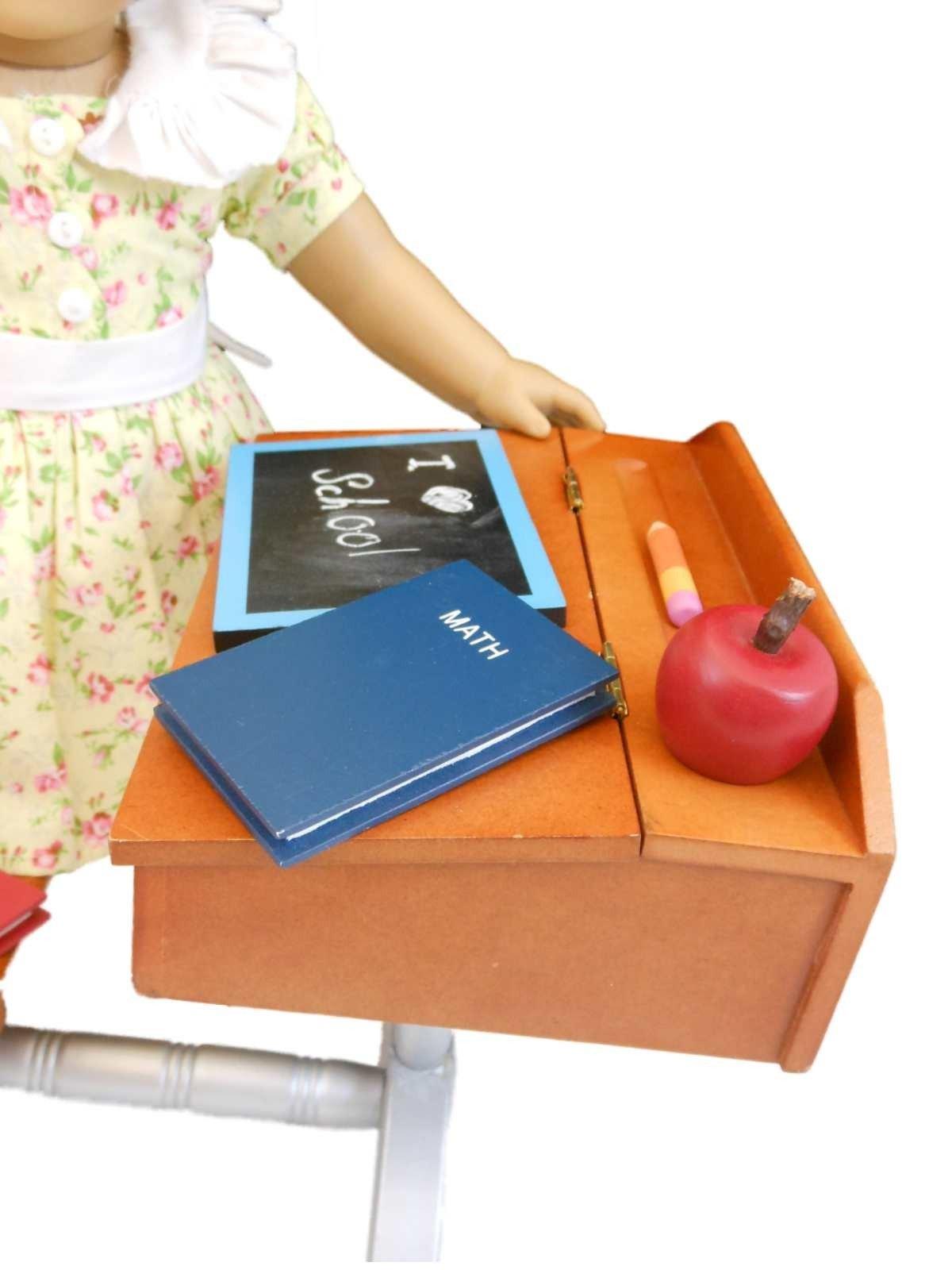 1930 Style School Desk Furniture  Accessories For 18 -7245