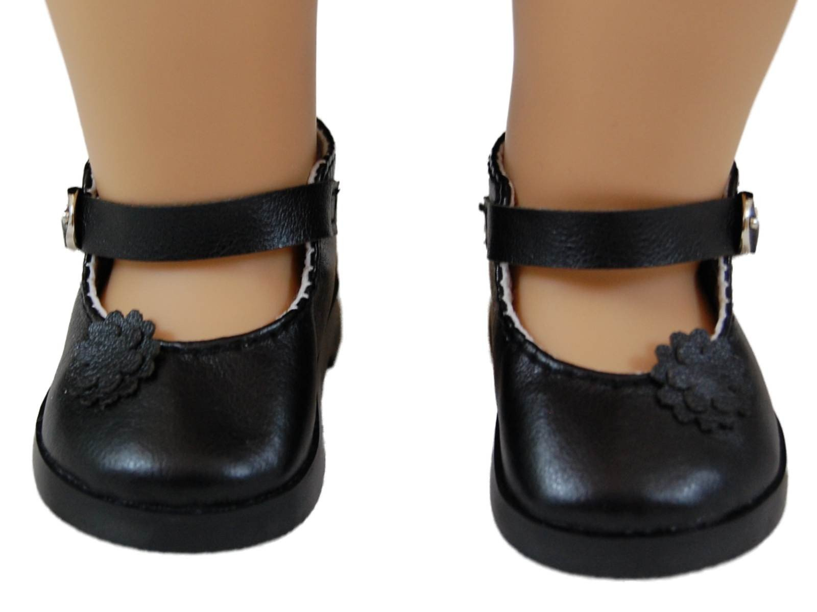 Black Mary Jane Dress Shoes For 18 Quot American Girl 168 Doll