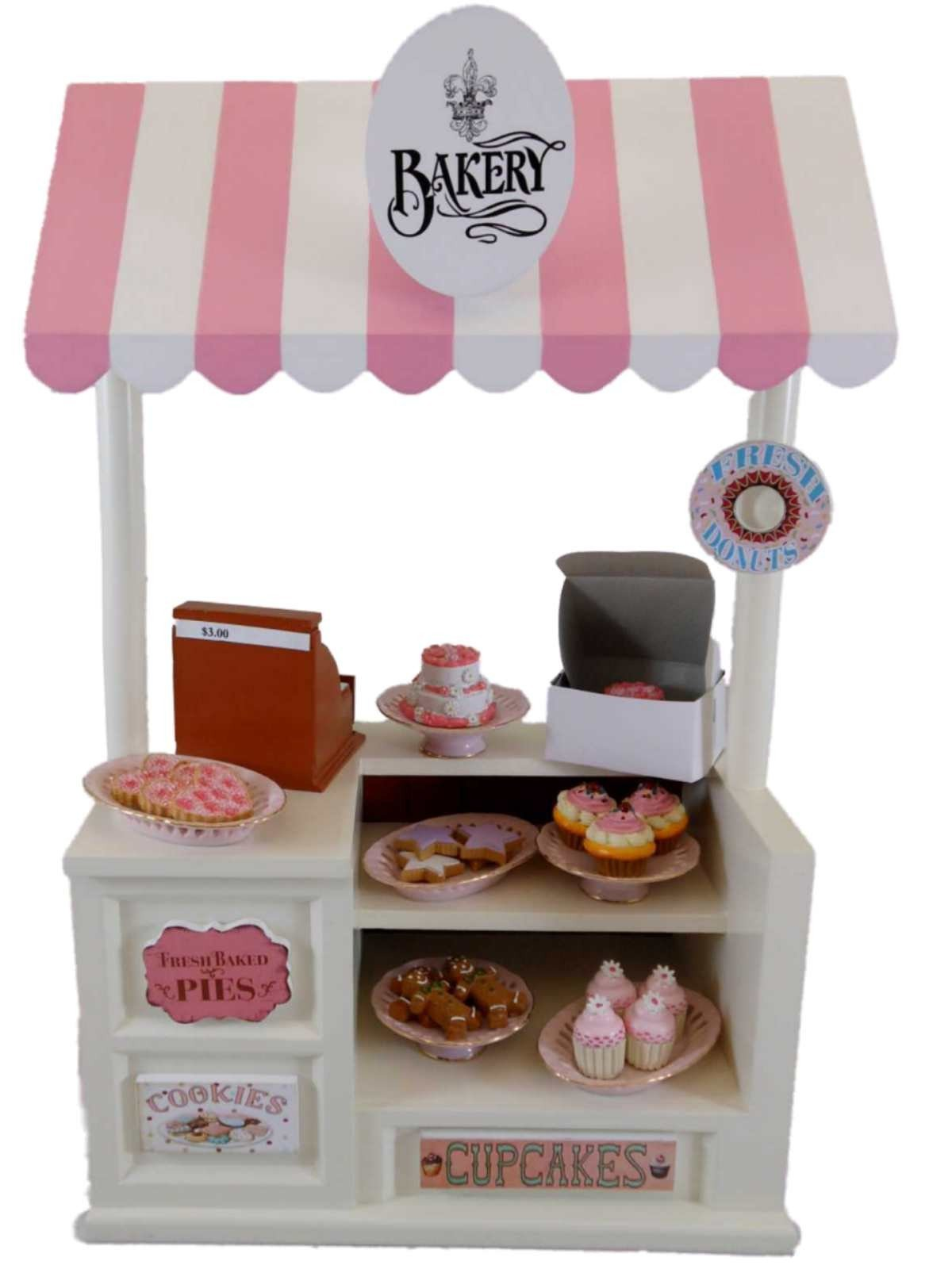 Fit For 18/'/' American Girl Baking Table and Treats Cupcake Doll Acccessory Gift
