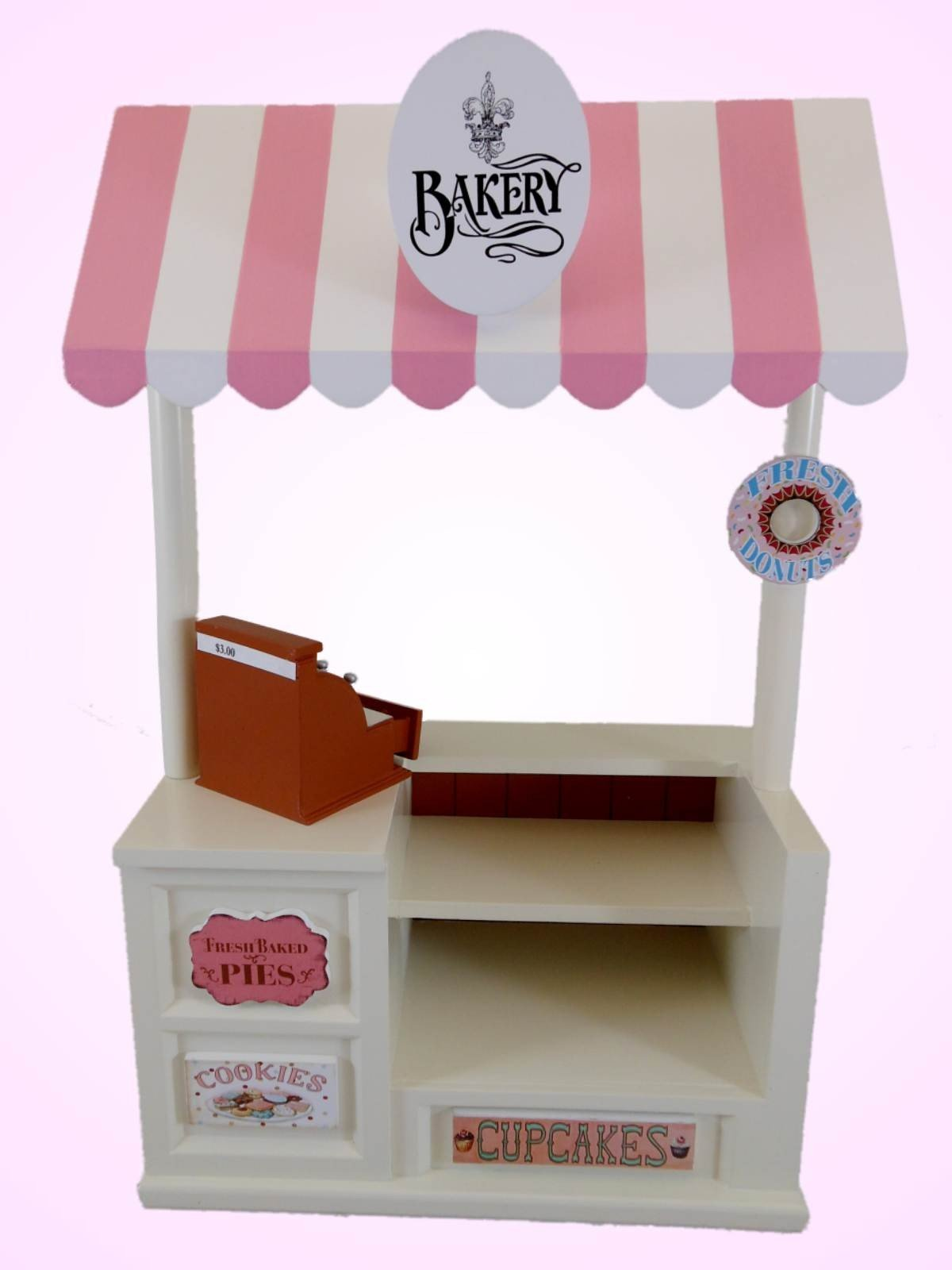 Bakery shoppe for 18 american girl dolls fits 18 doll for Furniture accessories
