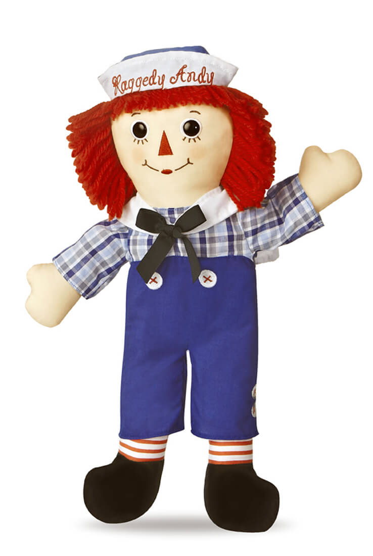 Raggedy Andy Classic Large Doll By Aurora