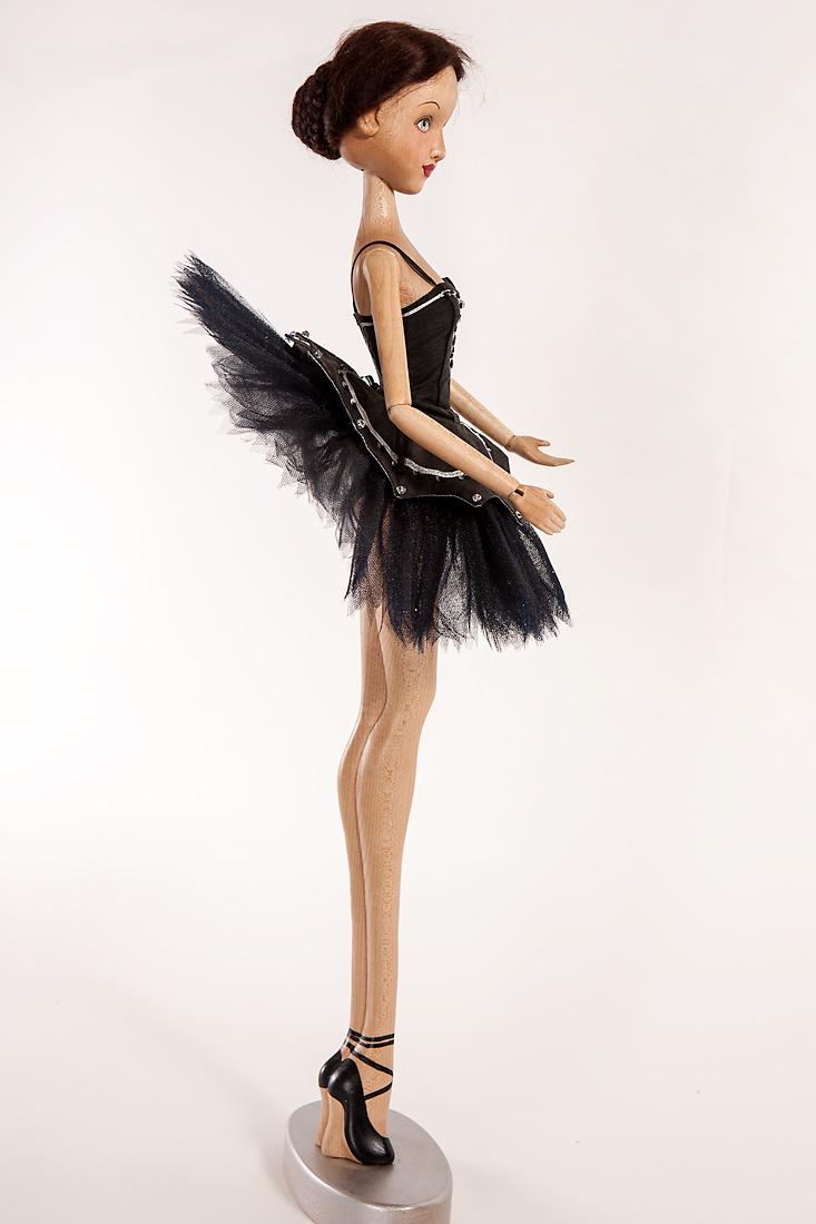 Dolls Art Dolls Black Swan Prima Ballerina