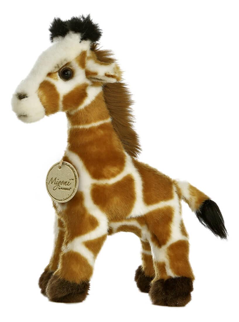 Giraffe Small Plush Animal Toy By Aurora