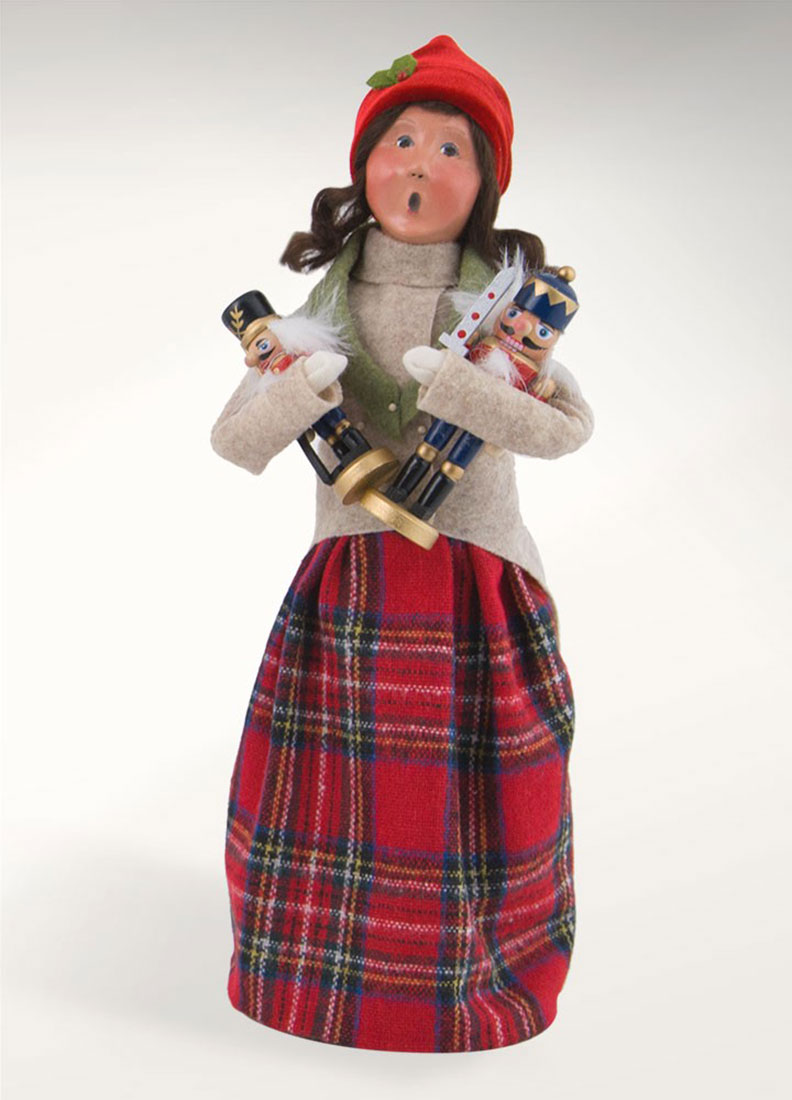Figurines Byers Choice Ltd Nutcracker Woman 2017