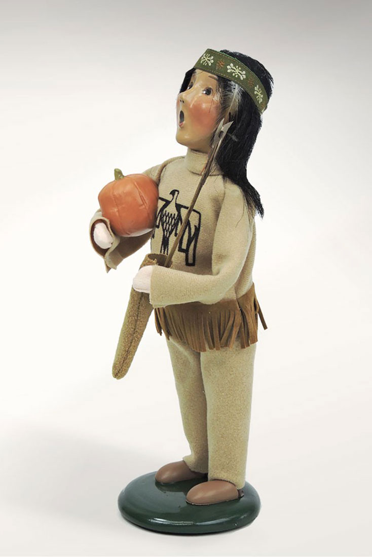 Figurines byers 39 choice ltd native american boy for American home choice