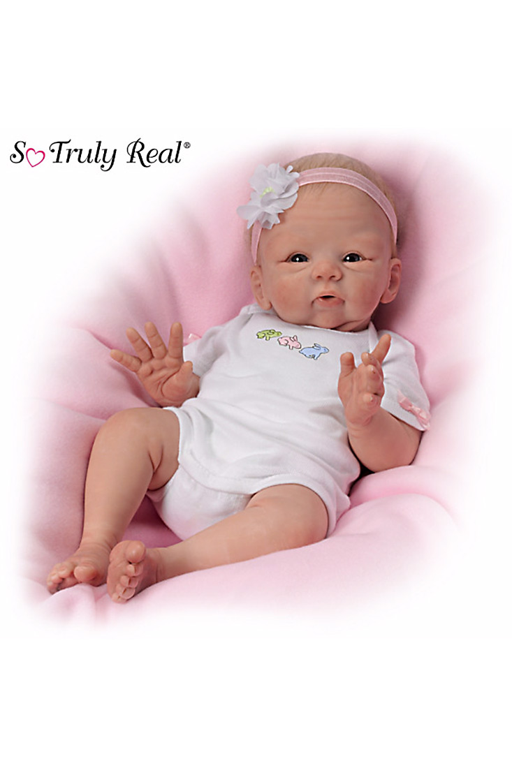 Dolls Collectible Dolls Snuggle Bunny Baby Doll Str