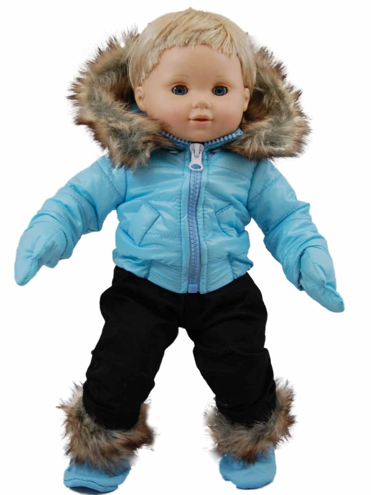Blue Snow Suit Outfit For 15 Quot Bitty Baby Doll Clothes