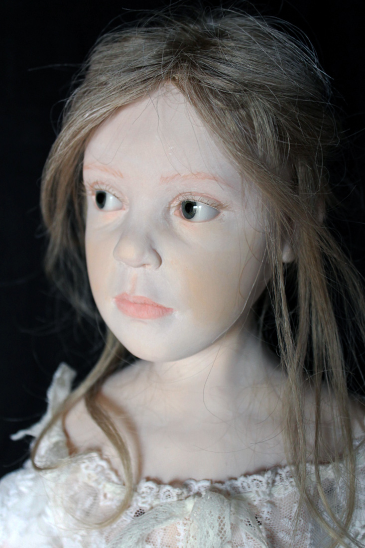 Like A Painting Ooak Cernit Art Doll By Elisa Gallea