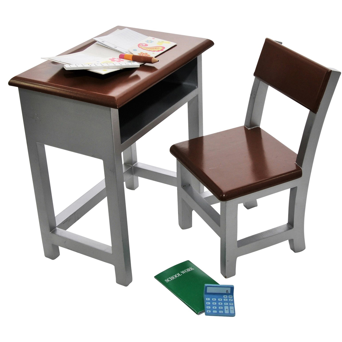 Modern Style School Desk Furniture Accessories Fit 18 Inch