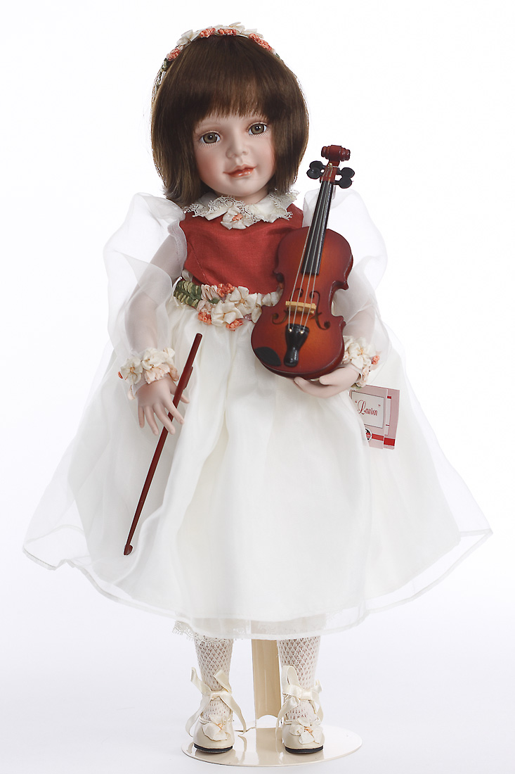 Dolls Collectible Dolls Lauren Porcelain Collectible Doll By