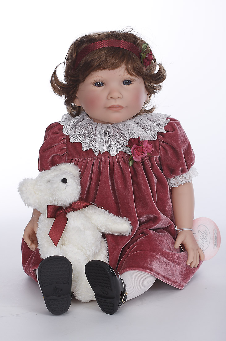 Vintage Rose Vinyl Soft Body Limited Edition Play Doll