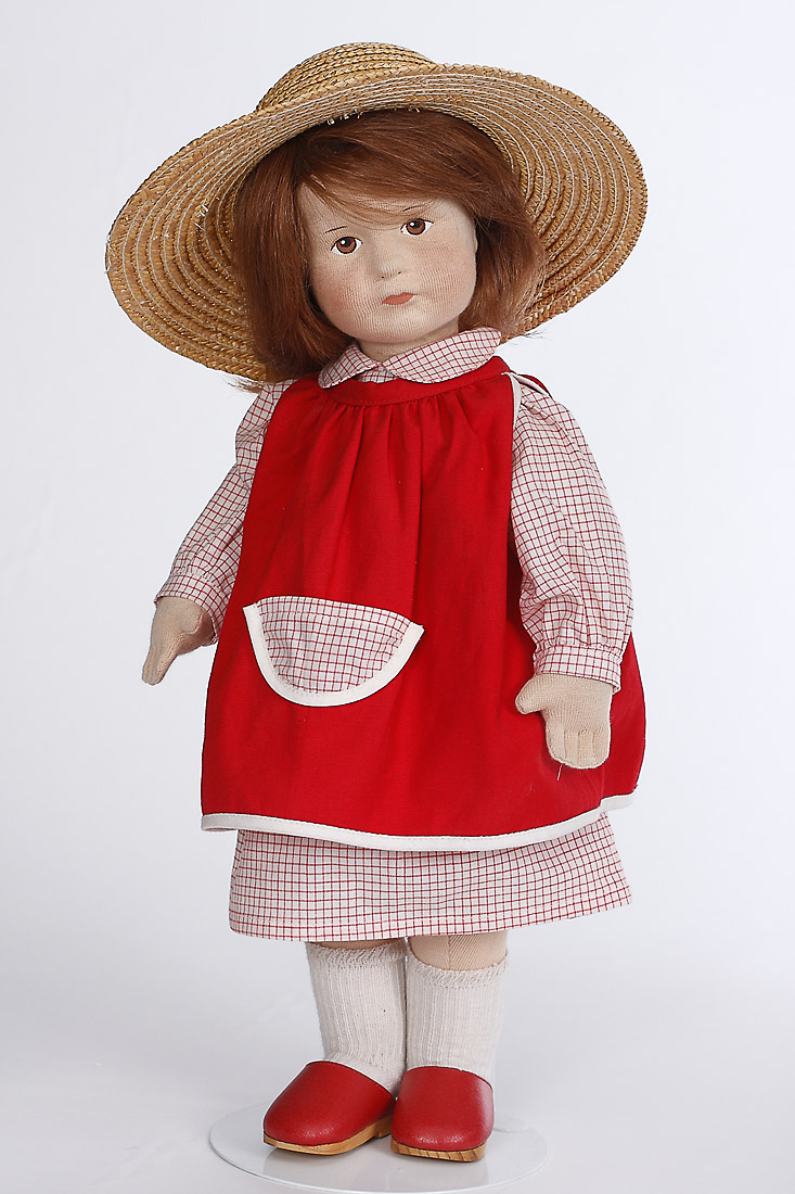 Barbara Cloth Limited Edition Collectible Doll By Karin