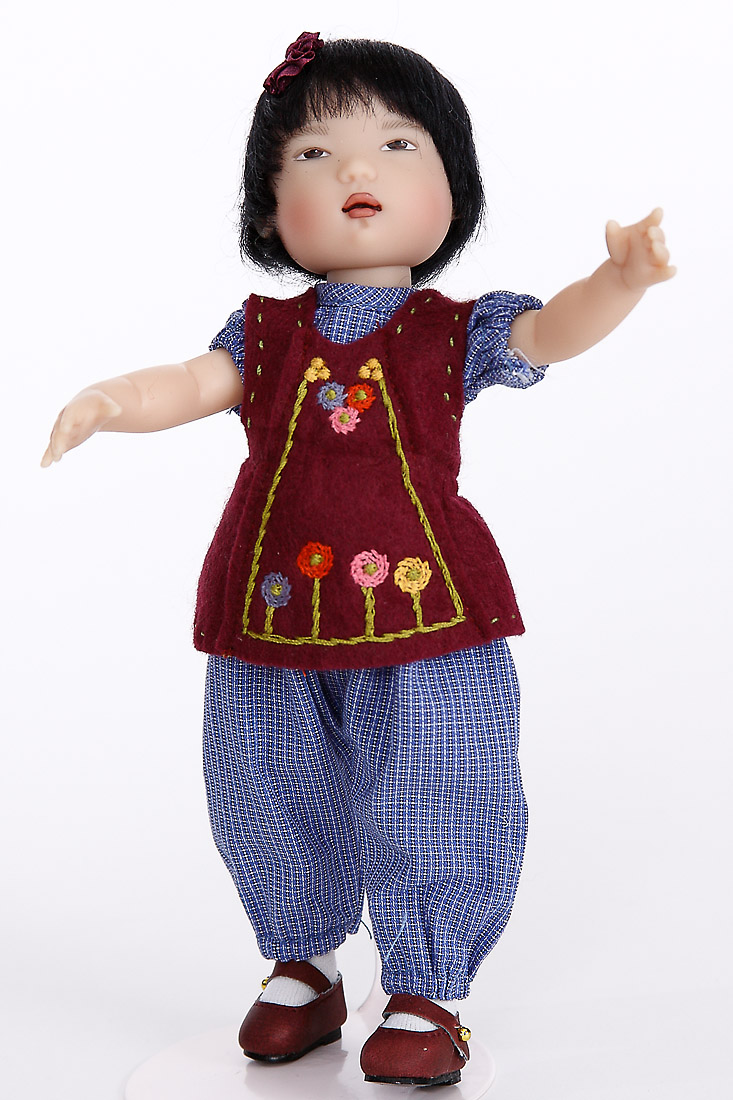 An Mei By Kish Vinyl Limited Edition Collectible Doll By