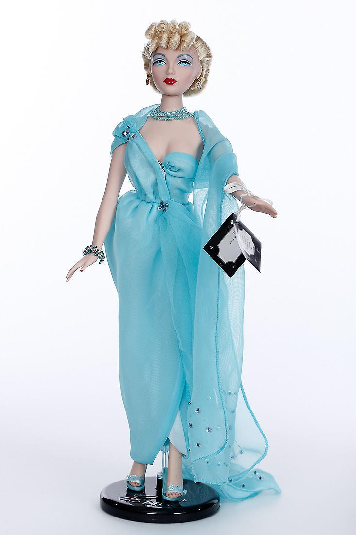 Artists O Mel Odom Blue Goddess Gene Doll