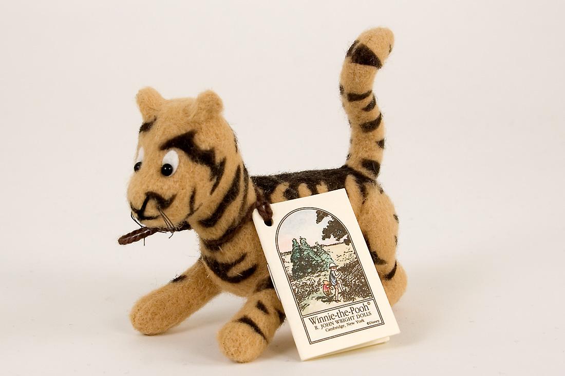 Pocket Tigger Felt Molded Limited Edition Miniature Doll