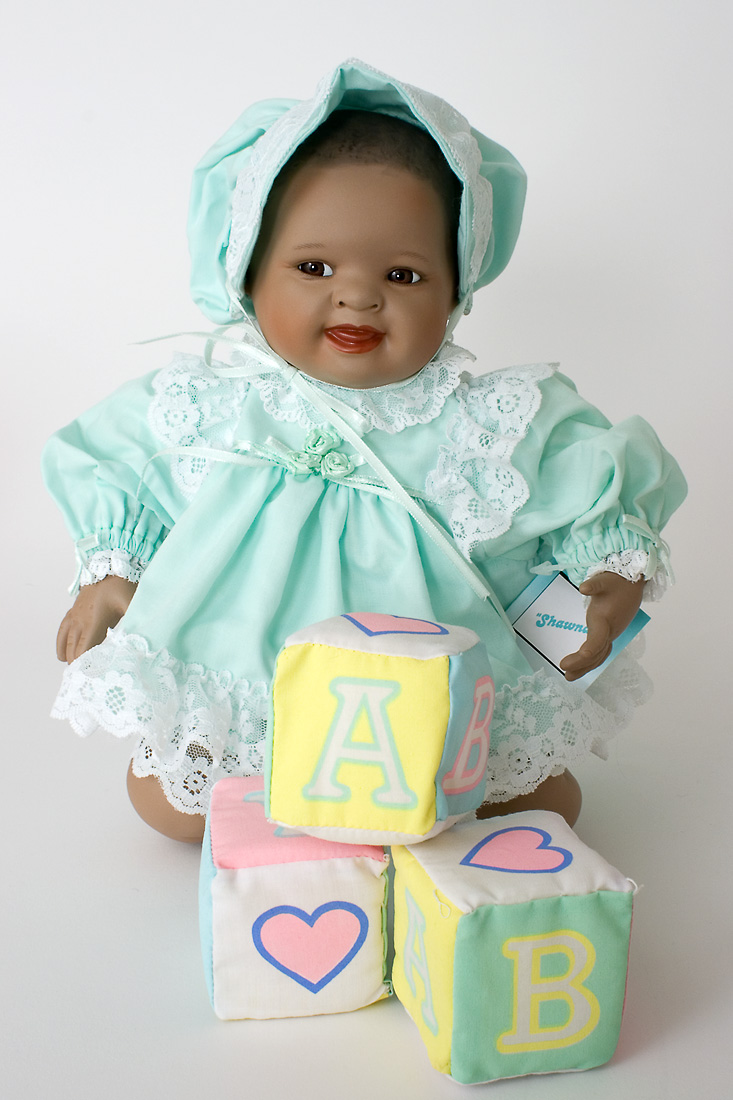 Dolls Collectible Dolls Shawna Porcelain African
