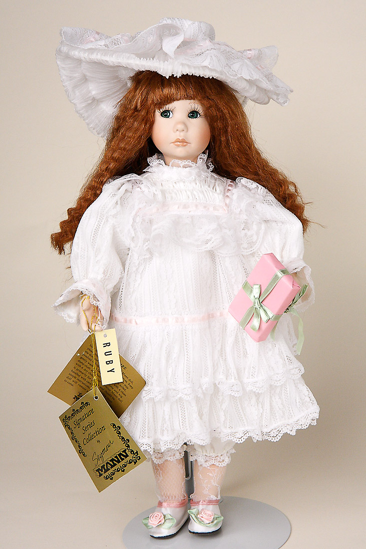 Ruby Porcelain Soft Body Limited Edition Collectible
