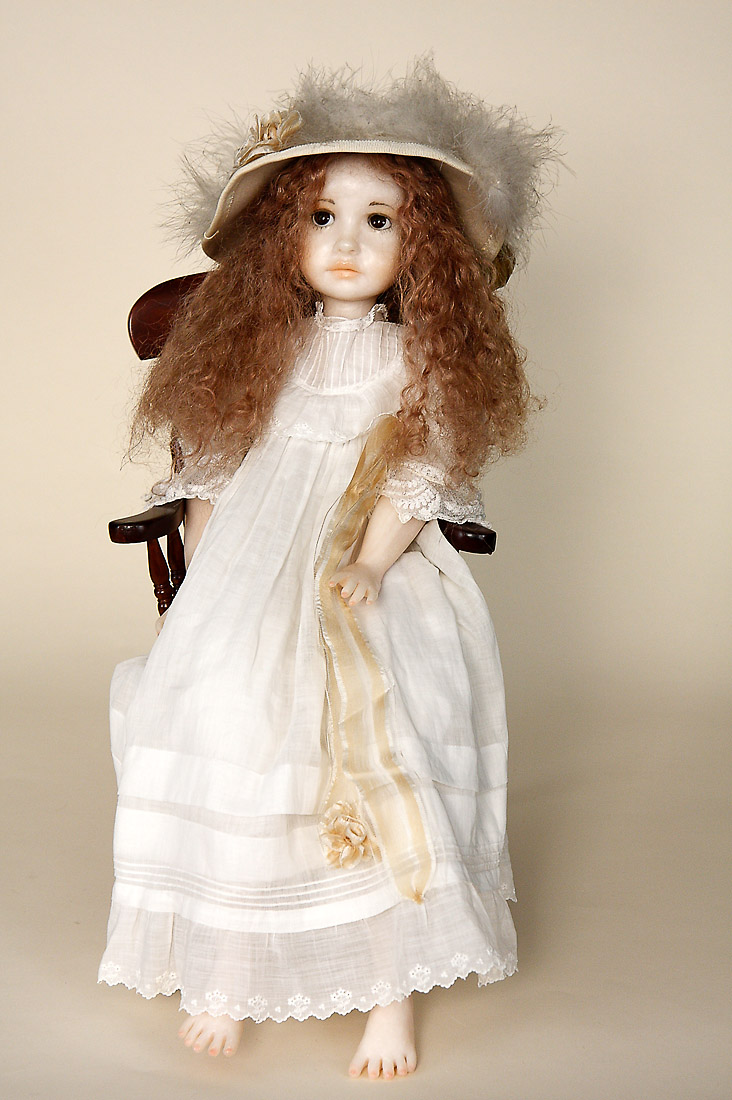 Bella Ooak Polymer Clay One Of A Kind Art Doll By Karin