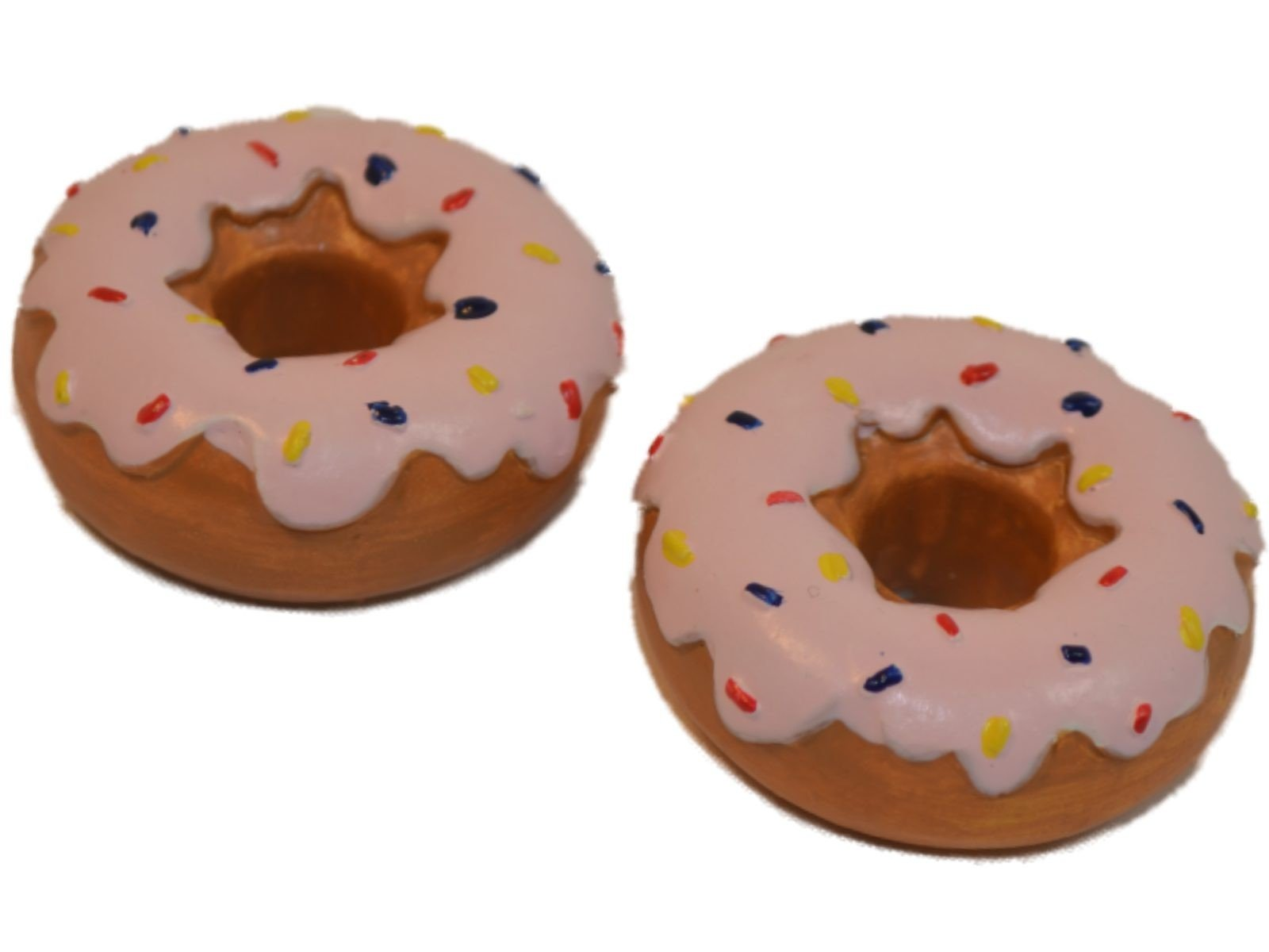 """Doll Food Set of 2 Cruller Doughnuts for 18"""" American Girl¨"""