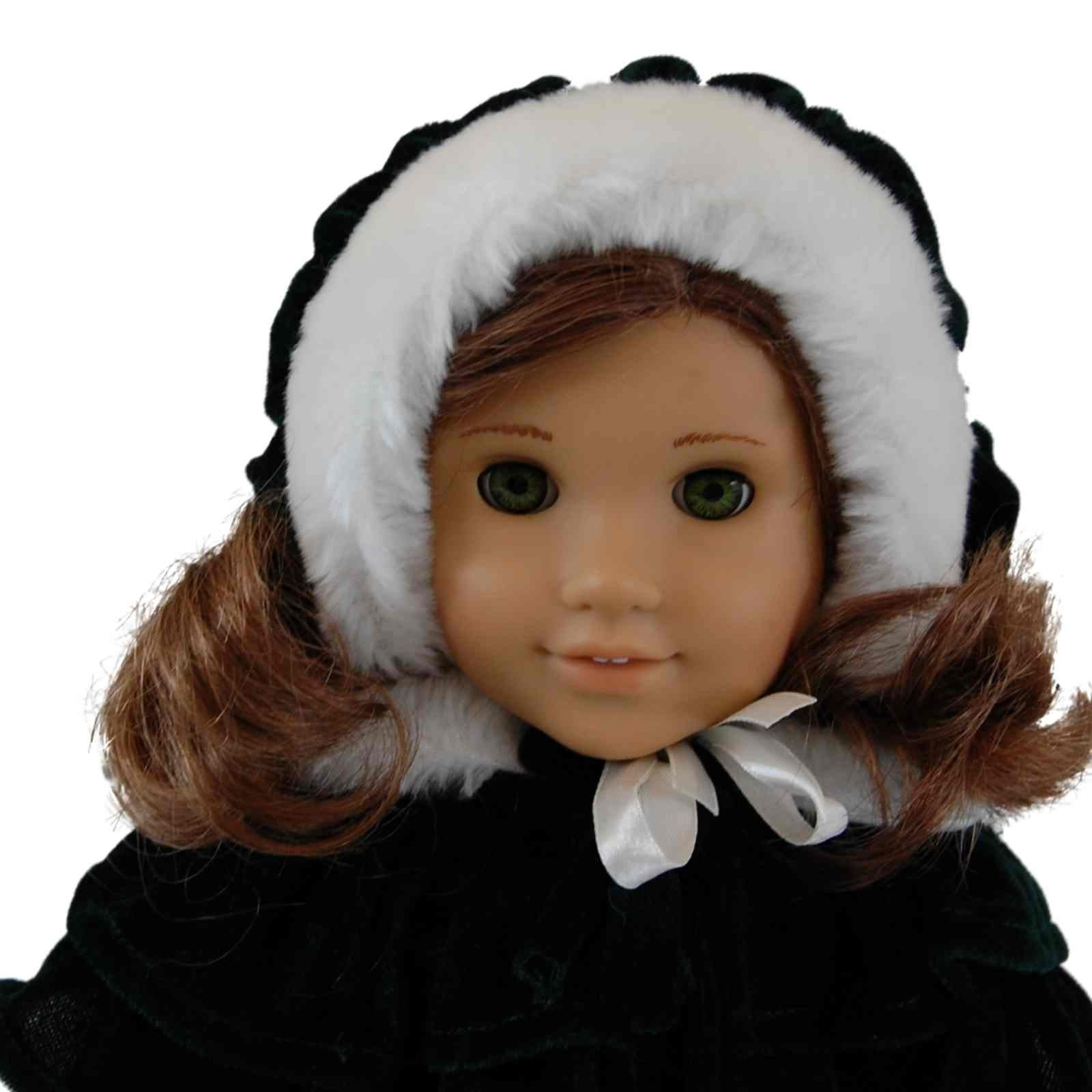 "Velvet Coat Doll Clothes Outfit for 18"" American Girl¨ Doll"