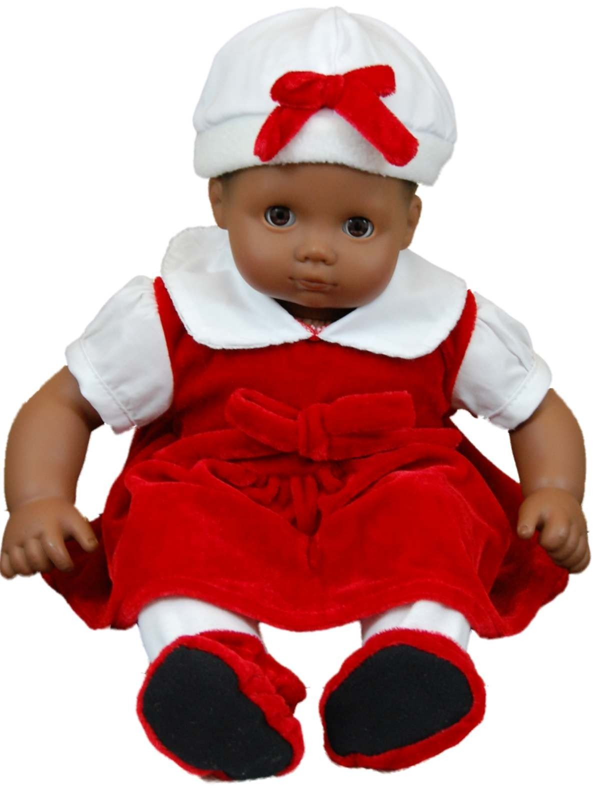 Red Velvet Outfit Fits 15 Quot American Girl 168 Bitty Baby Doll
