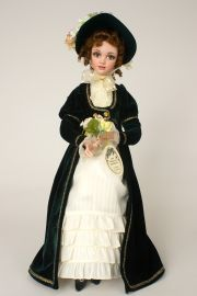 Collectible Limited Edition Porcelain soft body doll Elinor by Jan McLean