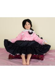 Collectible Limited Edition Year Vinyl soft body doll Mai Ling (Gunzel) by Hildegard Gunzel