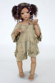 Collectible Limited Edition porcelain doll Latie by Annette Himstedt