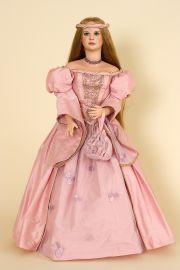 Collectible Limited Edition Porcelain soft body doll Briar Rose by Gwen McNeill