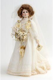 Collectible Artist's Proof Porcelain soft body doll Juliet Bride by Paulette Aprile