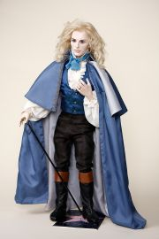 Collectible Limited Edition Porcelain soft body doll Tom Cruise as Lestat by Silvia Opderbeck