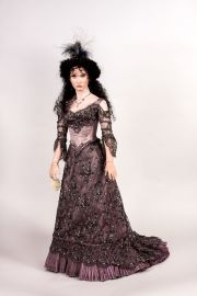 Main image of Carmen porcelain art doll by Angela Barker