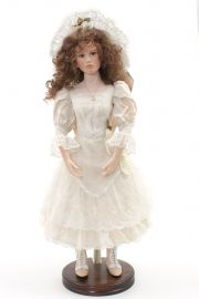 Collectible Limited Edition Porcelain doll Francesca by Angela Barker