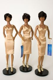 Collectible  Vinyl doll Dreamette Back Up set by Robert Tonner
