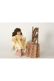 Collectible Limited Edition Porcelain soft body doll Courtney by Linda Mason