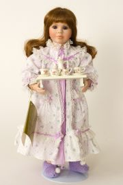 Collectible Limited Edition Porcelain soft body doll Little Sunshine by Linda Mason