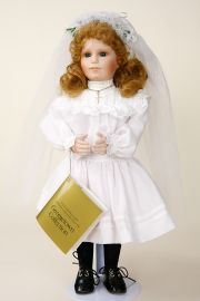Collectible Limited Edition Porcelain soft body doll Bridget Quinn by Linda Mason