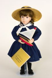Collectible Limited Edition Porcelain soft body doll Jennie Cooper by Linda Mason