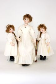 Collectible Limited Edition Other Media doll Kathy, Maria, Sophie set only by Linda Murray