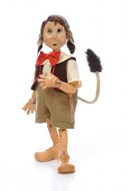 Collectible Limited Edition Wood doll Pinocchio Donkey Ears by Marlene Xenis